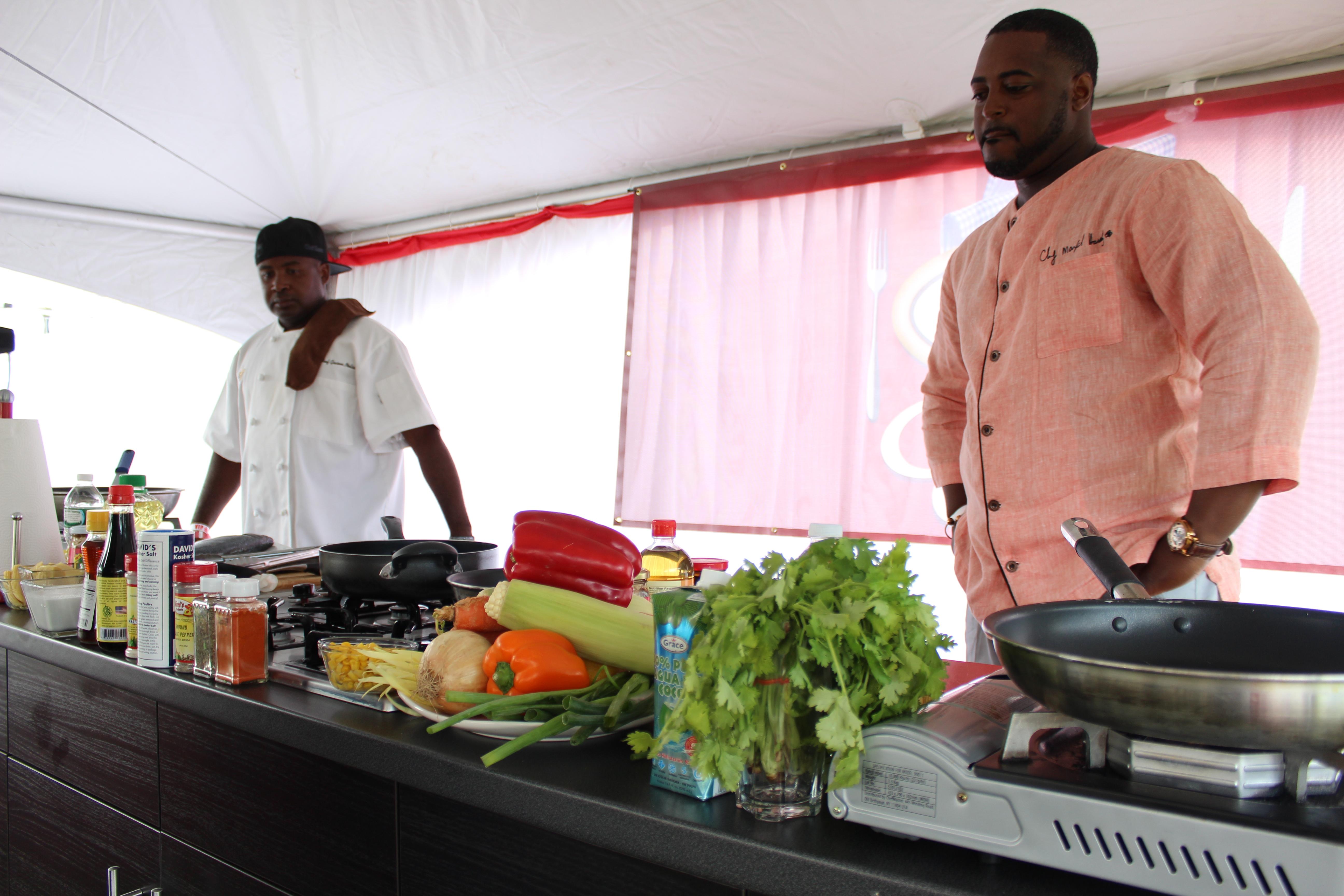 Grace Jamaican Jerk Festival NY 2014