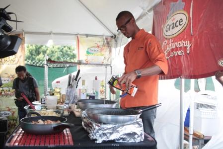 Grace Jamaican Jerk Festival NY 2013